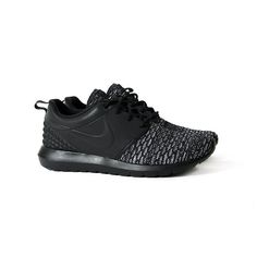 nouvelles de Nike Air Force - Nike Flyknit Roshe Run NM Flyknit PRM Black | Roshe Run, Roshe and ...