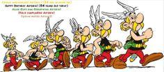 Evolución de Asterix.