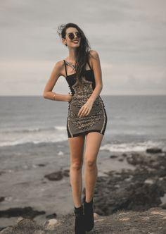 Elle-May Leckenby: European Retro Frameless Round Fashion Sunglasses 8912