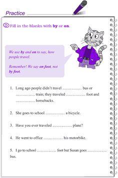 Grade 4 Grammar Lesson 15 Prepositions (4)