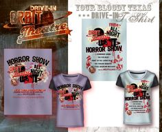 Orbit T-shirts. Tributo all'Orbit Drive in di Joe R. Lansdale. Grafica e illustrazioni di Davide Corsetti