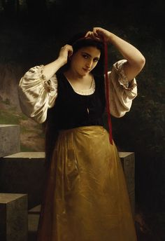 William-Adolphe Bouguereau  More about art: http://sammler.com/art/