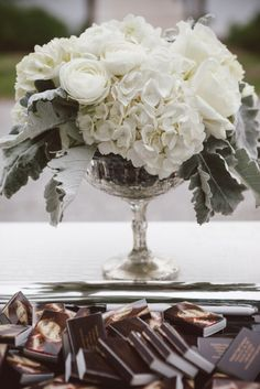 Charleston Weddings - Lowndes Grove Plantation - Amelia + Dan Photography - Southern Protocol - Ooh! Events - Grey, White + Navy Lowcountry soiree - Martina Liana Gown