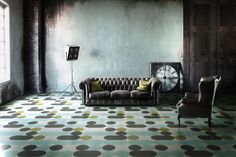 India Mahdavi for Bisarra, Yatzer Design Week Milan, 2015 Tile Projects, Design Projects, Milan, Home Trends, Best Interior Design, Interior Work, House And Home Magazine, Floor Design, Elle Decor