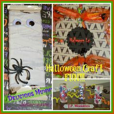 These 3 Halloween craft ideas are great for kids and teens! www.amothersshadow.com