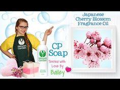 Soap Testing Japanese Cherry Blossom Fragrance Oil- Natures Garden #soapfragrances #cherryblossomoil #flowersoapfragrance