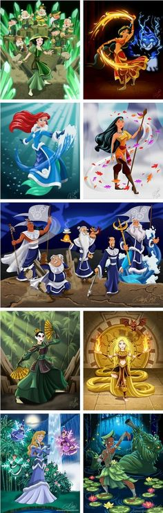 Disney characters in the Avatar universe? I think yes. These are all perfect