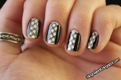 Nailed It.: taped manicure BM21