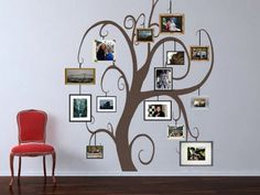 25 Inspiring Family Trees You Can Create On Your Wall   Shelterness