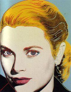 Andy Warhol's Grace Kelly