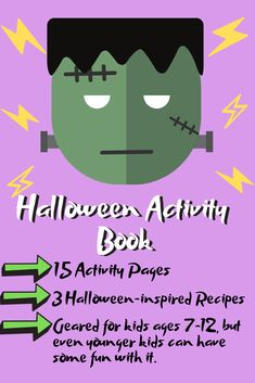 Secret puzzles, tasty recipes, and a cauldron-full of Halloween-inspired brain teasers that will keep your family laughing all Halloween long! Halloween Activities, Book Activities, Halloween Spider, Happy Halloween, Halloween Spells, Pregnant Halloween Costumes, Spooky Stories, Kids Suits, Mom Humor