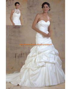 Preiswert Luxuriöse Brautkleider aus Satin