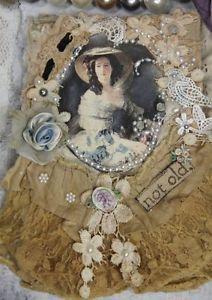 Vintage-Look-Handmade-Blank-Diary-Journal-Sketchbook-Memory-Book-Collage-Elite4u