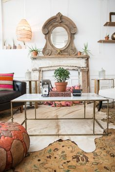 Our Leo Zodiac Style featuring our Braedon coffee table #PatinaZodiacStyle | Patina