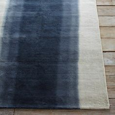 Ombre Dye Rug from west elm #colorcrush