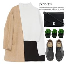 """""""peripeteia"""" by evangeline-lily ❤ liked on Polyvore featuring Zara, Dion Lee, The Cambridge Satchel Company, Dr. Martens, DrMartens, zara and fallwinter2015"""
