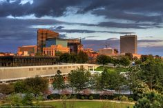 Columbia, South Carolina Skyline  ...I don't know why...but I just have the urge to move away?