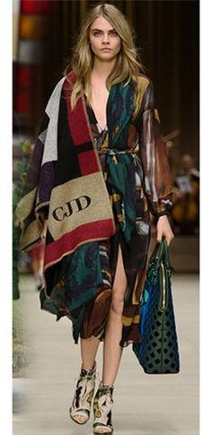 Burgundy Wine Blue Grey Beige Black Wool Color Block Cape Shawl Wrap Scarf Coat