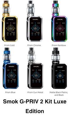 G-PRIV 2 Luxe Edition Vape Kit By Smok #smok #vapekit #g-priv2 #gpriv2 #gpriv