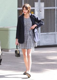 Checker dress