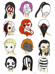 Máscaras de Tokio ghoul