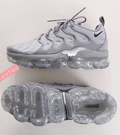 nike, shoes, and sneakers image Sneakers Fashion, Fashion Shoes, Shoes Sneakers, Ootd Fashion, Shoes Trainers Nike, Sneaker Heels, Adidas Sneakers, Nike Tn Shoes, Womens Gray Nike Shoes