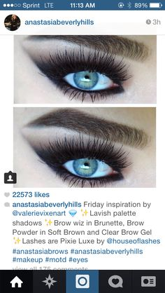 Great eyebrows create the backdrop for a great eye!!!!