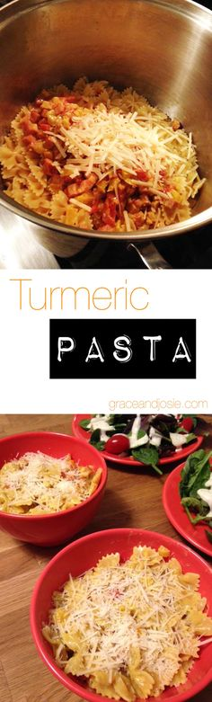 Turmeric Pasta: It's like a classy Mac and Cheese for Adults
