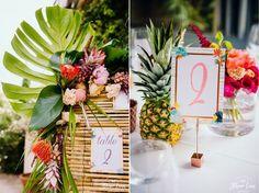Mariage tropicool : Ananas et flamands roses ! Je suis trop excitée à l'idée de