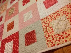Textured quilt sampler free project | Sewn Up by TeresaDownUnder .......such a different Sampler Quilt....one day???