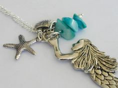 Hey, I found this really awesome Etsy listing at https://www.etsy.com/uk/listing/270629943/mermaid-necklace-silver-mermaid-necklace