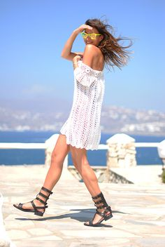 Emmaoclothing Dress. Loose beach dresses like this <3