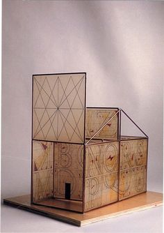 """Jeffery Morin, """"Sacred Space.""""  """"Bound and Beyond: Structure in Book Art.""""   UWM Union Art Gallery."""