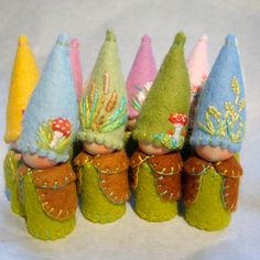 Spring gnomes...so cute!