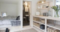 Building A House Under Spaces Compact Living, Tiny Living, Loft, Tiny House, House Inside, Self Build Houses, Small Cottages, My Dream Home, Building A House