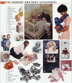 English vocabulary - The Nursery and Baby Accessories
