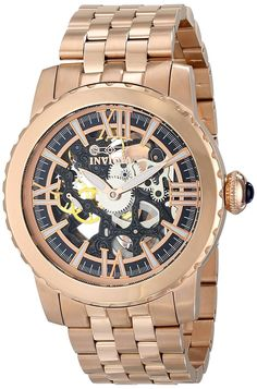 9045 Invicta Men's 14553 Specialty Analog Display Mechanical Hand Wind Rose Gold Watch