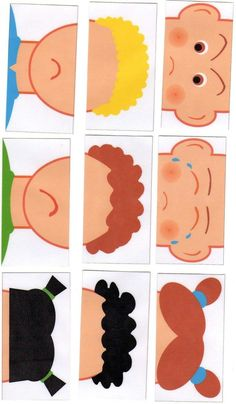 Making a Puzzle with Emotions (molded) - Preschool Children Akctivitiys Preschool Learning, Preschool Crafts, Teaching Kids, Emotions Activities, Preschool Activities, Art For Kids, Crafts For Kids, Feelings And Emotions, Educational Toys