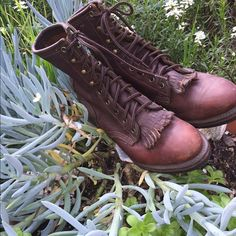 Brown leather boots. D Tuff made in the U.S.A. Super soft brown leather boots. D Tuff made in the U.S.A.So disappointed they don't fit. Size 7 1/2. D tuff Shoes Ankle Boots & Booties
