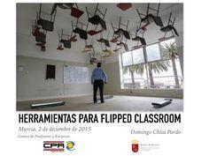 Ponencia acerca de las herramientas para flipped classroom en la jornada celebrada en Murcia (2-12-2015)