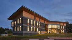 The R.W. Kern center at Hampshire College. First living higher education programs Hecht.