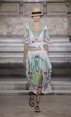 Temperley London Summer '16 Arabelle Wrap Dress