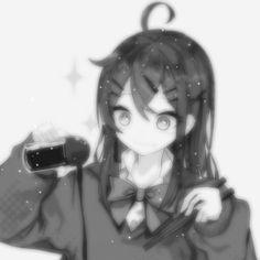 Dark Anime Girl, Anime Art Girl, Got Anime, Cyberpunk Anime, Anime Monochrome, Emo Art, Anime Couples Drawings, Cute Anime Pics, Anime Profile