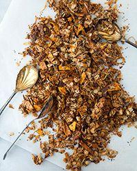 Tropical Chia Coconut-Mango Granola Recipe.  I get to use my dehydrator and chia seeds!