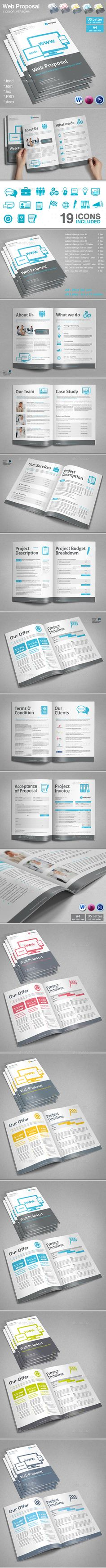 Official Proposal Template A Modern & Proposal Professional And Very Usefull Template For A .