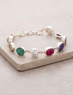 #SivanaWishes Nine Planet Gemstone Bracelet