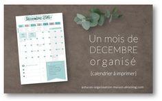 ✎ Mes outils organisationnels - {astuces} ORGANISATION maison