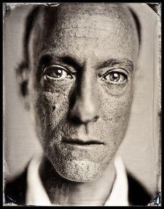 modern tintype portraits  Michael Shindler