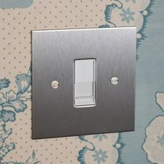 USB Charger Socket in Stainless Steel