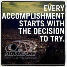 AdvoCare is an amazing way to jump start your weight loss goals.  Visit our website to see how AdvoCare has impacted our lives at https://www.advocare.com/130211158